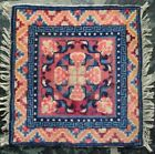 Antique Vintage Chinese Asian Oriental Rug Mat Square