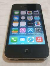USED, 100% Functional  - Apple iPhone 4 - 8GB - Black (Unlocked) A1332 (GSM)