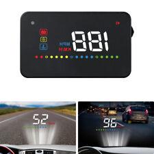 "3.5"" Car HUD Head Up Display OBD2 II Speedometer Projector Overspeed Alarm Kit"