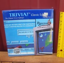 TRIVIA Classic Edition NWT computer game 3.5 floppy disc 1992