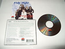 Five Play - What the World Needs Now (2008) cd Excellent condition