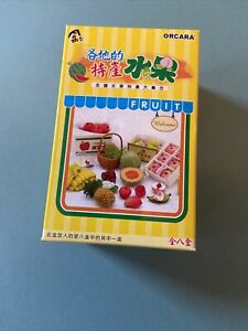 Orcara Dollhouse Speciality Fruits Miniature Set re-ment size