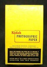 "Vintage Kodak Velox F-2 2 3/4"" x 4 1/2"" Photographic Paper 100 Sheets-Sealed Box"