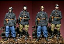 ALPINE M 35041 RUSSIAN TANK CREW 2 FIGURINE SET WW2 1/35th non peinte Kit