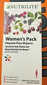 NUTRILITE WOMEN'S PACK CONVENIENT DAILY VITAMIN &MINERAL  FOR WOMEN NIB