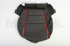 Genuine Mercedes A CLA AMG Front Driver Seat Bottom Cover Black Red A1769108505