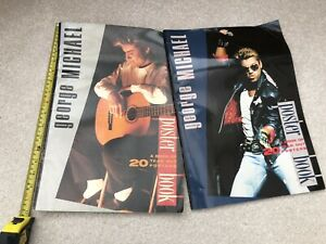 george michael rare Large Poster Books