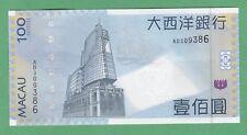 Macau 100 Patacas Note P-82a  UNCIRCULATED