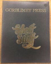 1975 BARRY SMITH SHELF STUFF PORTFOLIO, FIRST PRINTING, GORBLIMEY PRESS
