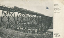 Boone IA * RR Viaduct Pres. McKinley's Special Crossing May 28, 1901 Train