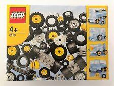 Rare Lego 6118 WHEELS SUPPLEMENTAL SET 106 Piece BNISB Unopened SA seller