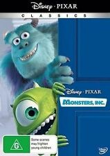 Monsters Inc - DVD Region 4