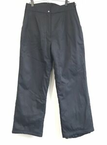 OBERMEYER Ski Snow Winter Pants Snow Pants Snowboard Black 65101 Nylon 14 S
