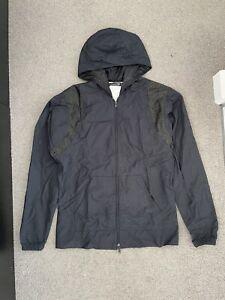 Rufskin Jacket Waterproof Double Zipper Size S Navy