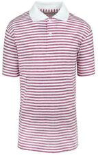 Vêtements blanche sans marque en polycoton pour garçon de 2 à 16 ans