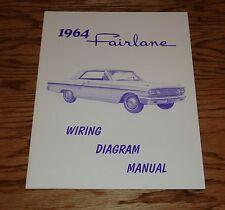 1964 Ford Fairlane Wiring Diagram Manual 64