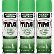 Ting Athlete's Foot & Jock Itch Anti-Fungal Spray Powder - 4.5 Oz (Pack of 3)