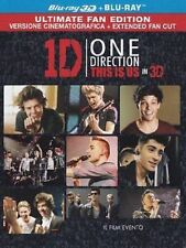 Blu Ray ONE DIRECTION THIS IS US - 3D - (Blu Ray 3D+Blu Ray) ......NUOVO