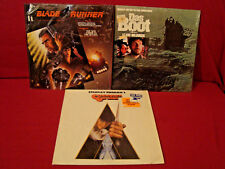 Stanley Kubrick Clockwork Orange + Blade Runner & Das Boot 3 1St Press Lps Vg+