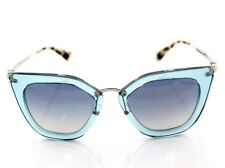 4cef4732591 RARE Genuine PRADA CINEMA EVOLUTION Transparent Azure Sunglasses SPR 53S  VYS-5R0