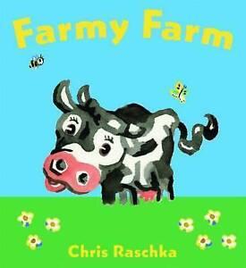 FARMY FARM BY CHRIS RASCHKA CHILDRENS PICTURE FELT BOARD BOOK ORCHARD SCHOLASTIC