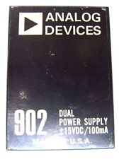 Analog Devices 902 Dual Power Supply +/- 15 VDC / 100 mA Made in USA
