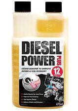 2 x Diesel Power Plus Car,Van,Engine Fuel Additive Injector System Cleaner 473ml