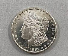 1881 S Morgan Silver Dollar - Brilliant Uncirculated