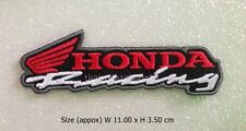 New Honda racing embroidered iron on patch cars big bike motorcycles badge DIY