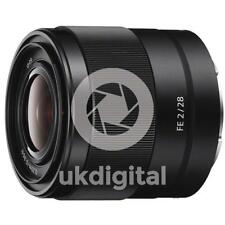 Sony FE 28mm F2.0 Lens (SEL28F20)