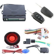 1x Car Alarm System One-Way Anti-Theft Device Security Alert with Remote Control