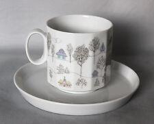 Kaffeetasse 2-teilig Rosenthal Polygon Winterreise