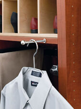 Valet Rod Insert for Closet Satin Nickel (Rev-A-Shelf)