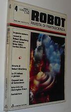 ( F 3 )  ARMENIA - ROBOT rivista di fantascienza 4 silverberg  50 anni sf