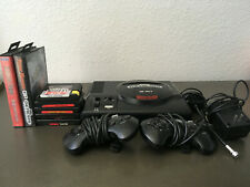 Sega Genesis Bundle - Console - Two Controllers - Seven Games - Used