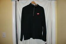 Nwt Nike Golf mens medium black 1/2 zip