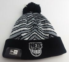 Brooklyn Nets NBA Knit Pom Beanie/Winter Hat/Hardwood Classic/throwback
