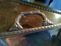 Pelle de Table Style Louis XVI Métal Argenté