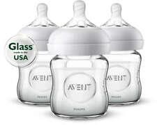 P701  Natural Glass 4-oz. Bottle 3-pk SCF701/37
