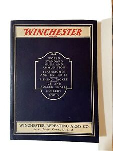 1929 Vintage Winchester Catalog- Ammunition, Fishing Tackle, Cutlery