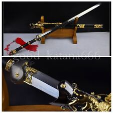 "100%Handmade Chinese Sword Wudang Sect Sword ""玄武剑"" Pattern Steel Craft Sword#358"
