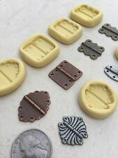 Flexible Silicone Mold Resin Clay Fondant Steampunk Hinge Chocolate Polymer Clay
