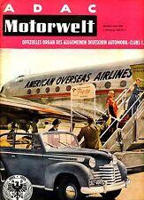 ADAC Motorwelt  Heft 4 von 1953, Deutsche Motorrad-Rennställe 1953, dtsch. Busse