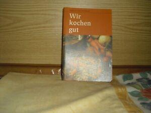 Kochbuch, Wir kochen gut