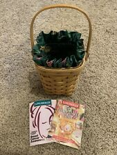 1998 Longaberger Breast Cancer/Horizon of Hope Basket w/Liner/Protector/Pamplet