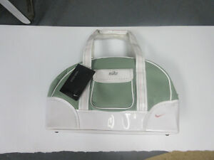 BRAND NEW Nike Sage green and white Tote  overnight bag