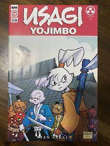 UN - Usagi Yojimbo #20 Main Cover A 1st Print - 1st Yukichi Yamamoto 2021 IDW