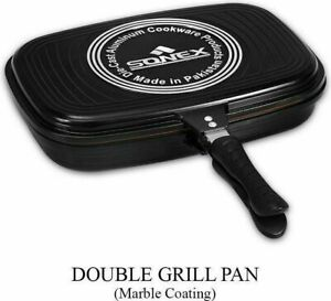 Sonex Double grill pan  with marble coating 30cm & 36cm