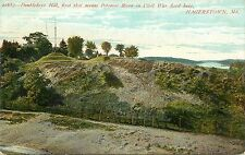 c1907 Postcard; Doubledays Hill 1st Shot over Potomac in Civil War Hagerstown MD