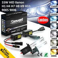 55W H1 H3 H7 H8 H9 H11 9005 9006 CANBUS Car HID Xenon Headlight Ballast Bulb Kit